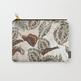 Botanical jungle leaves Carry-All Pouch