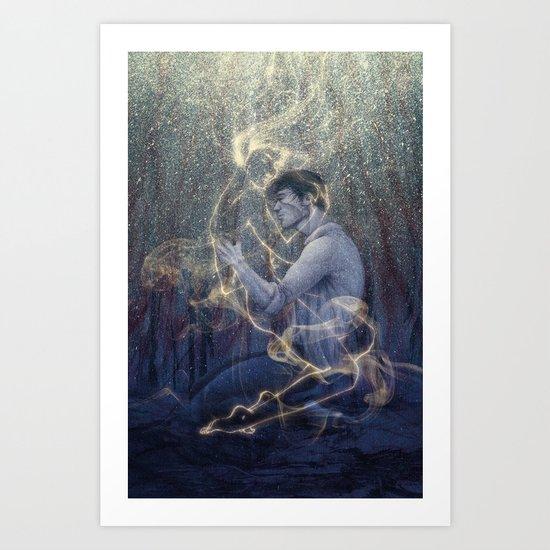 Worlds Art Print