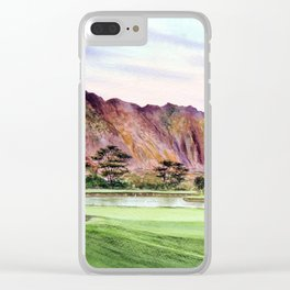 Koolau Golf Course Hawaii 16th Hole Clear iPhone Case