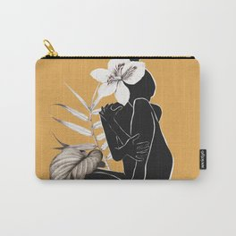 Tropical Nude Carry-All Pouch