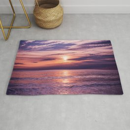 A Moving Sea Between The Shores Rug