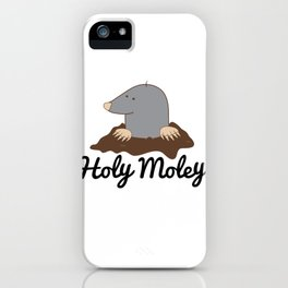Holy Moley by Decibel Clothing iPhone Case