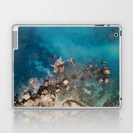 Fallen cliff rocks Laptop & iPad Skin