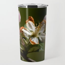 Wilting Apple Blossom Travel Mug