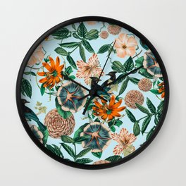 Forest Birds #nature #tropical Wall Clock