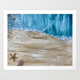 Parting of the Sea Art Print