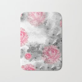ROSES PINK WITH CHERRY BLOSSOMS Bath Mat