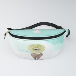 Time Rabbit and Lion Fanny Pack