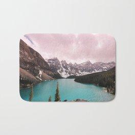 Moraine Lake Banff National Park Bath Mat