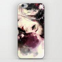 geisha iPhone & iPod Skins featuring Geisha by Vincent Vernacatola