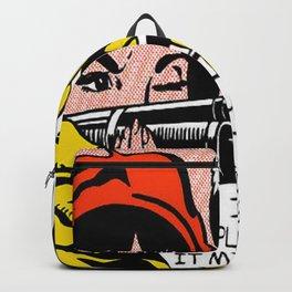 Roy Lichtenstein | Crack! (1963 - 1964)  Backpack