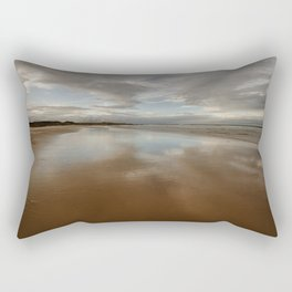 Bamburgh Beach Rectangular Pillow