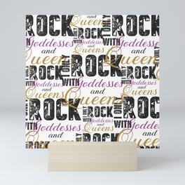 Rock Mini Art Print