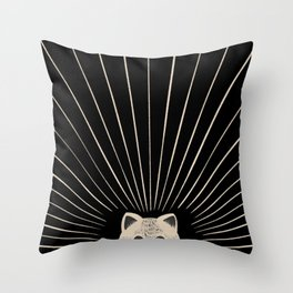 Good Morning son - Kitty 2 Throw Pillow