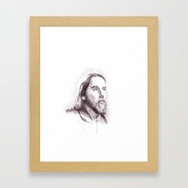 Jesus, the man Framed Art Print