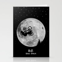 gta Stationery Cards featuring GTA Bike Glitch by JOlorful