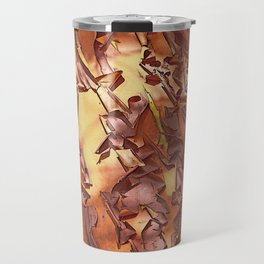 A STUDY OF MADRONA BARK Travel Mug