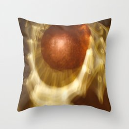 Abstract light reflections Throw Pillow