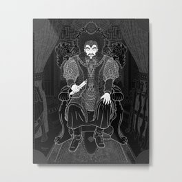 Parallaxium King Victetius Metal Print