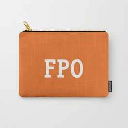For Placement Only - FPO - Artwork (Etsy Orange) Carry-All Pouch