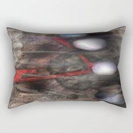 Winter Blah  Rectangular Pillow