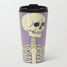 Skeleton Metal Travel Mug