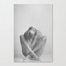 Photograph Nude Woman Canvas Print