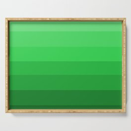 Shades of Grass Green - Color Therapy Serving Tray
