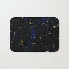 Glittered Snow Bath Mat