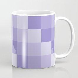 Four Shades of Lavender Square Coffee Mug