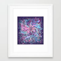 mosaic Framed Art Prints featuring Mosaic by Antracit