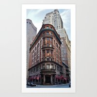 Old School NYC Art Print