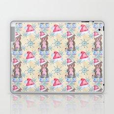 Christmas Bear Pattern Laptop & iPad Skin
