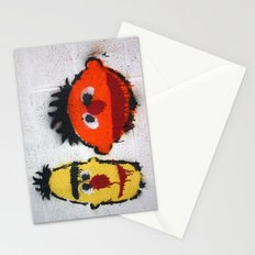 Bert and Ernie, Sesame Street, Graffiti Stationery Cards