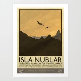 Silver Screen Tourism: Isla Nublar / Jurassic Park World Kunstdrucke