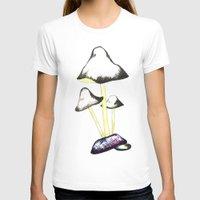 mushroom T-shirts featuring MUSHROOM by gaus