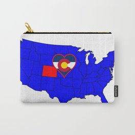 State of Colorado Carry-All Pouch