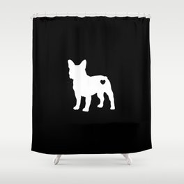 French Bulldog Lover Frenchies Dog Shower Curtain