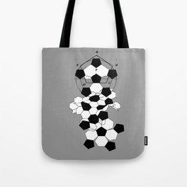 Soccer Football Ball pattern design  Tote Bag