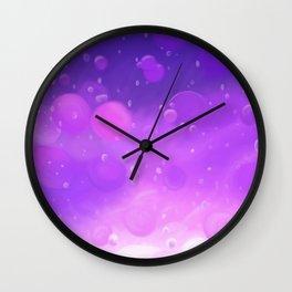 Lava Lamp Purple Wall Clock