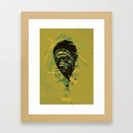 James Baldwin Portrait Framed Art Print