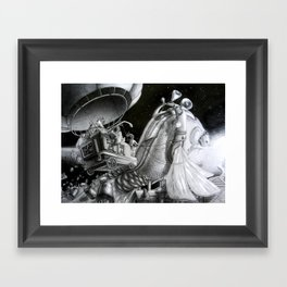 Fish of destiny Framed Art Print
