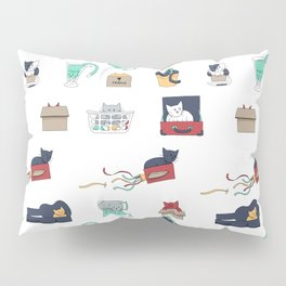 Contain Yourself -- Pattern Pillow Sham