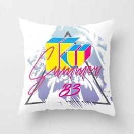 KU KU palm beach Throw Pillow