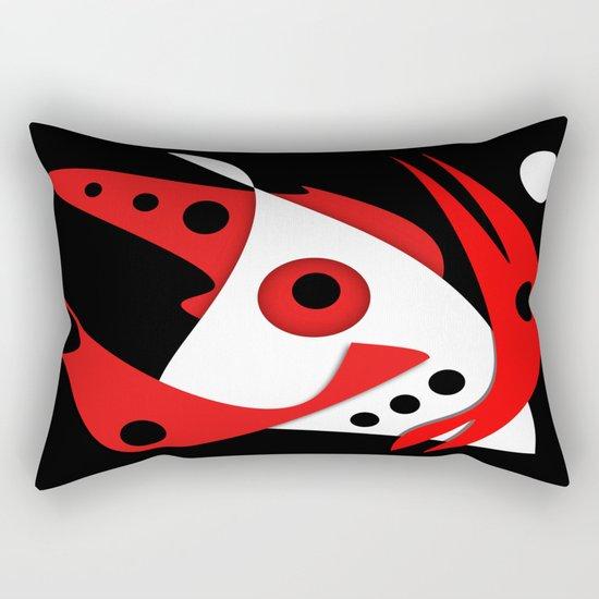 Abstract #354 Rectangular Pillow