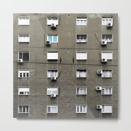 Belgrade / Facade Metal Print