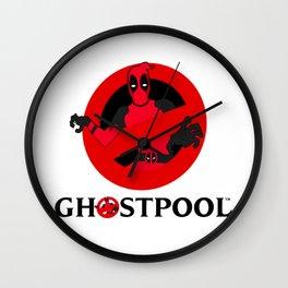 Ghostpool Wall Clock