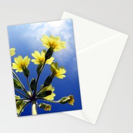 Yellow Flowers Blue Sky Stationery Cards