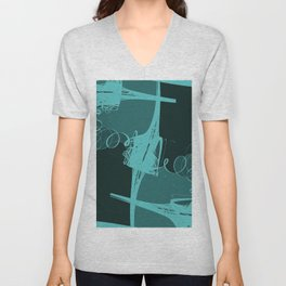 Swing abstract ... Unisex V-Neck