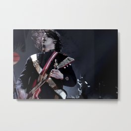 Jack White Airline Satan Metal Print